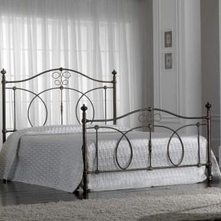 Кованая кровать Вудвид