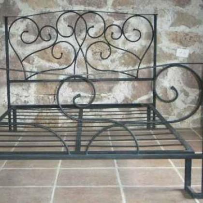 Кованая кровать Фрадус 1