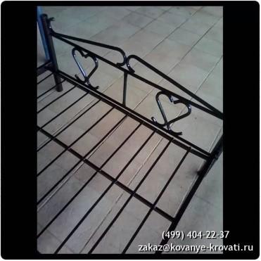 Кованая кровать Лютен