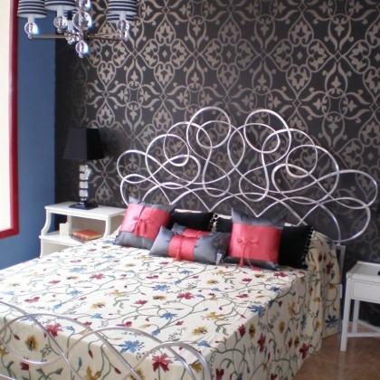 Кованая кровать Мона 1