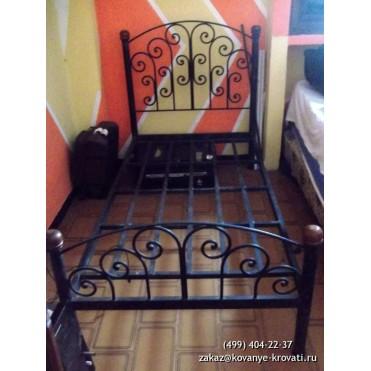 Кованая кровать Одно