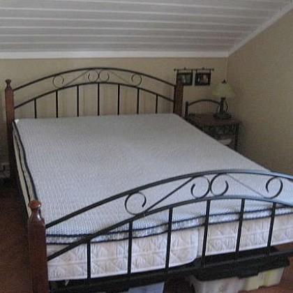 Кованая кровать Амта 1