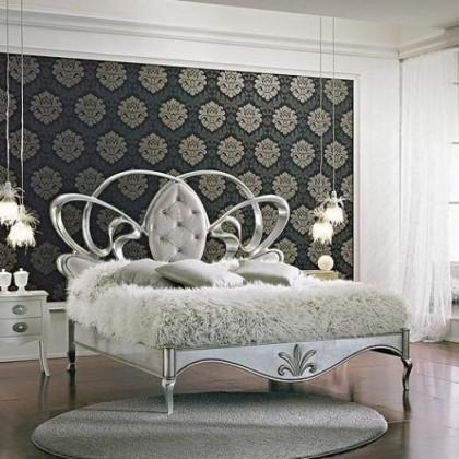 Кованая кровать Венеция 1