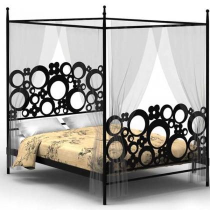 Кованая кровать Адолейв 1