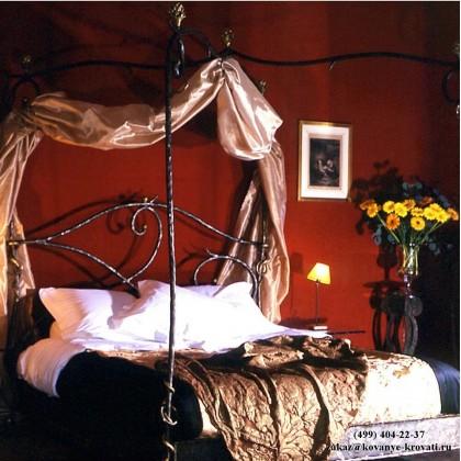 Кованая кровать Баген 1