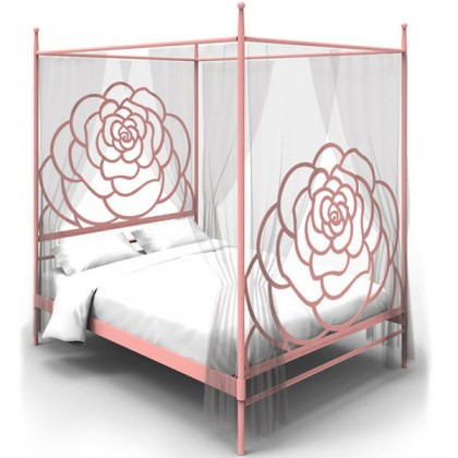 Кованая кровать Баильм 1