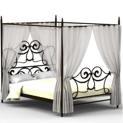 Кованая кровать Эори 1