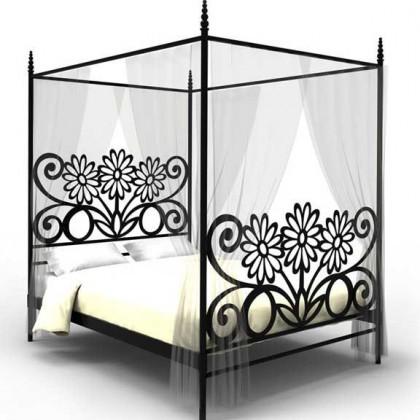 Кованая кровать Хильдеуг 1