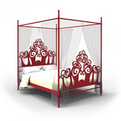 Кованая кровать Миралард 1