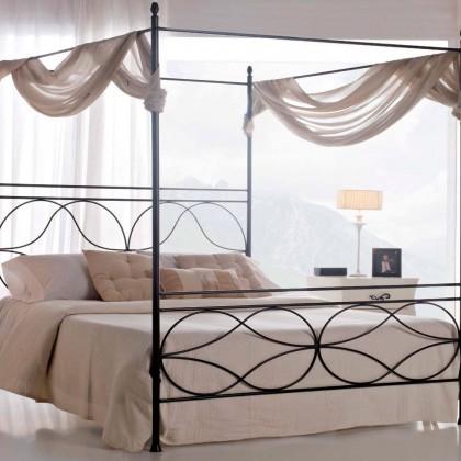 Кованая кровать Морих 1