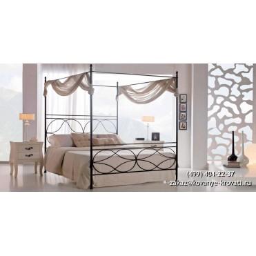 Кованая кровать Морих