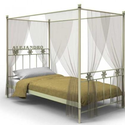Кованая кровать Салис 1
