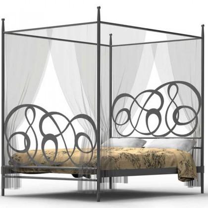 Кованая кровать Триуа 1