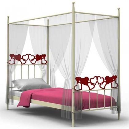 Кованая кровать Уаор 1