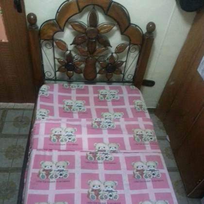 Кованая кровать Боргели 1