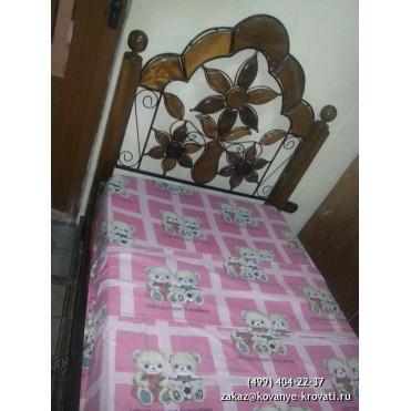 Кованая кровать Боргели