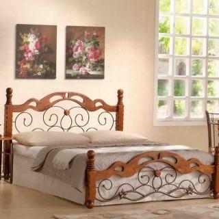 Кованая кровать Доиса