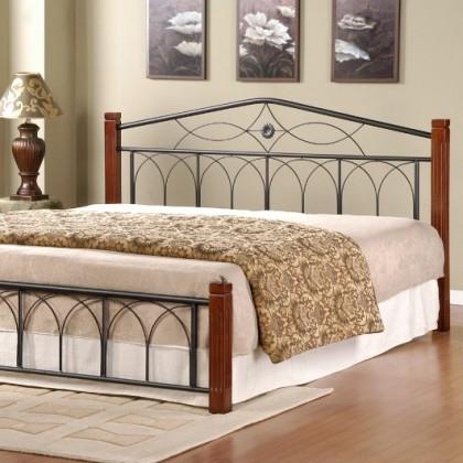 Кованая кровать Джубрин 1