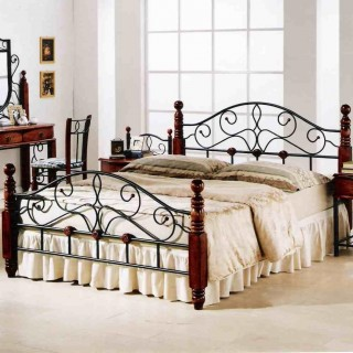 Кованая кровать Котрис