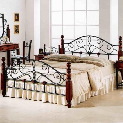 Кованая кровать Котрис 1