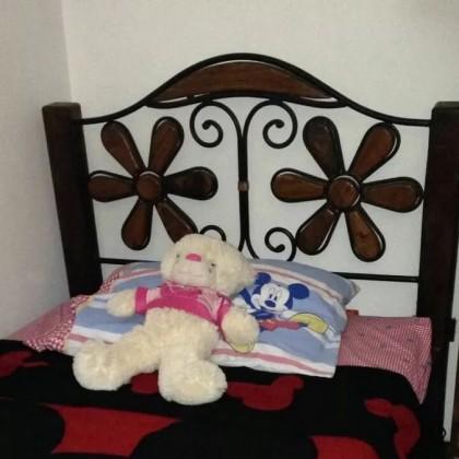 Кованая кровать Лекрах 1