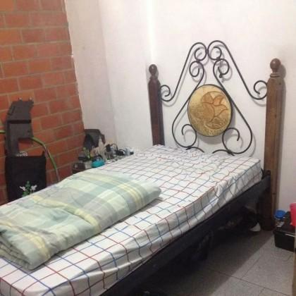 Кованая кровать Ранри 1