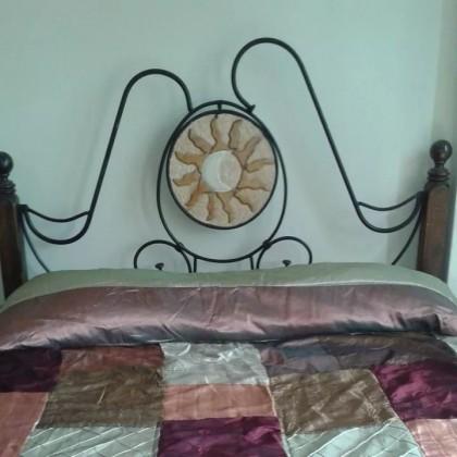 Кованая кровать Зашу 1