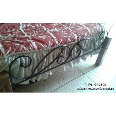 Кованая кровать Зашу