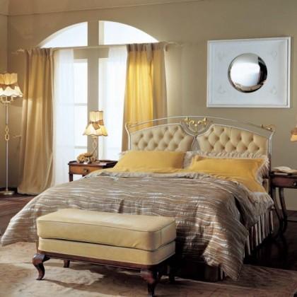 Кованая кровать Баон 1