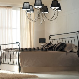 Кованая кровать Карро