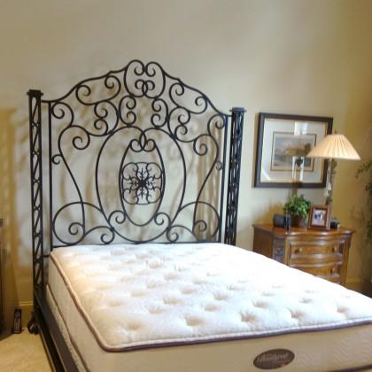 Кованая кровать Альдовин 1