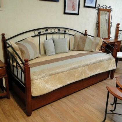 Кованая кровать Арнури 1