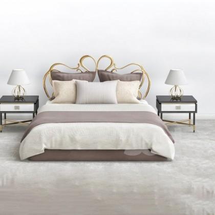 Кованая кровать Джеанд 1
