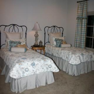 Кованая кровать Иуальд