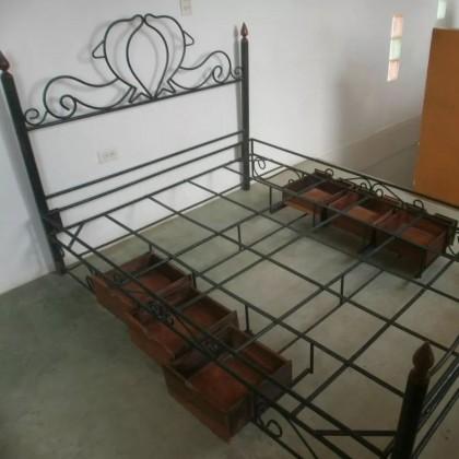 Кованая кровать Рилорд 1
