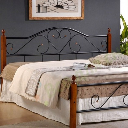 Кованая кровать Трирун 1